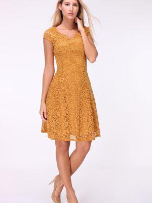 A-lijn kanten jurk