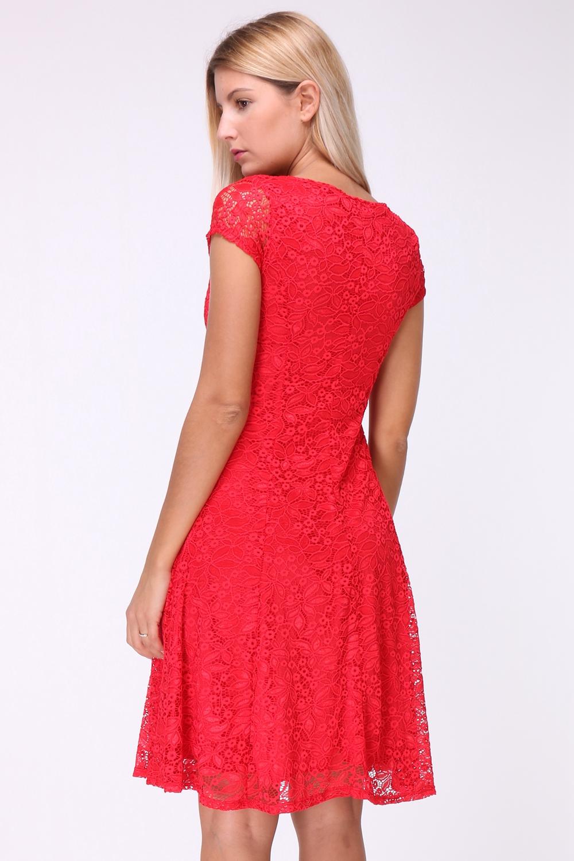 rode kanten jurkjes