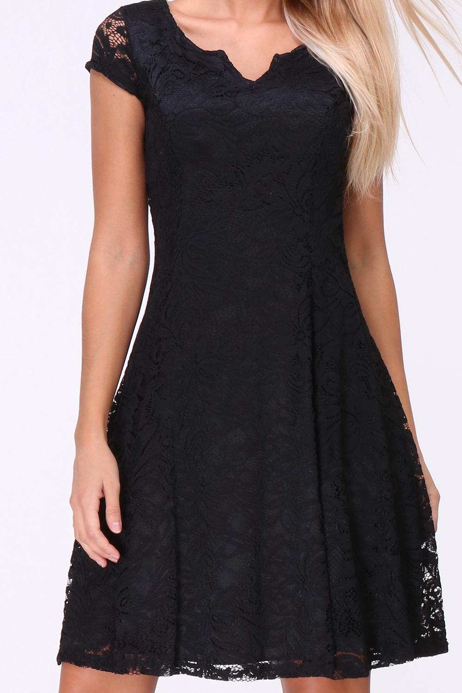 Betere A-Lijn kanten jurk | Donna Li FB-59